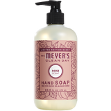mrs meyers rose liquid hand soap