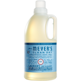 mrs meyers rain water laundry detergent
