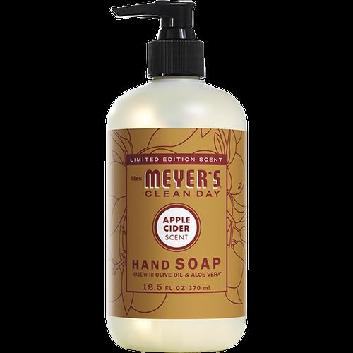 mrs meyers apple cider liquid hand soap