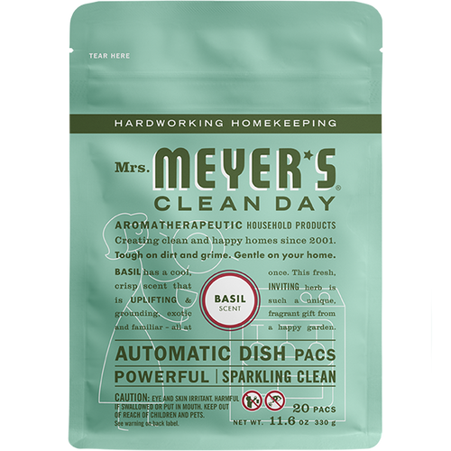 mrs meyers basil automatic dish packs