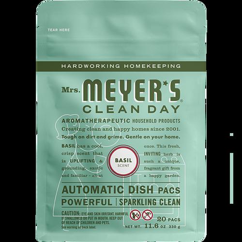 mrs meyers basil automatic dish packs