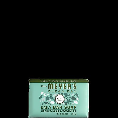 mrs meyers basil daily bar soap