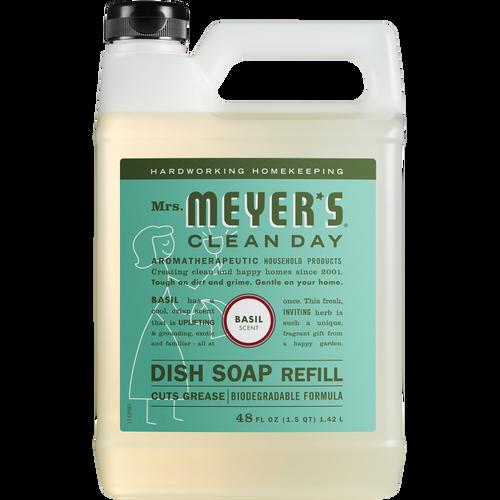 mrs meyers basil dish soap refill