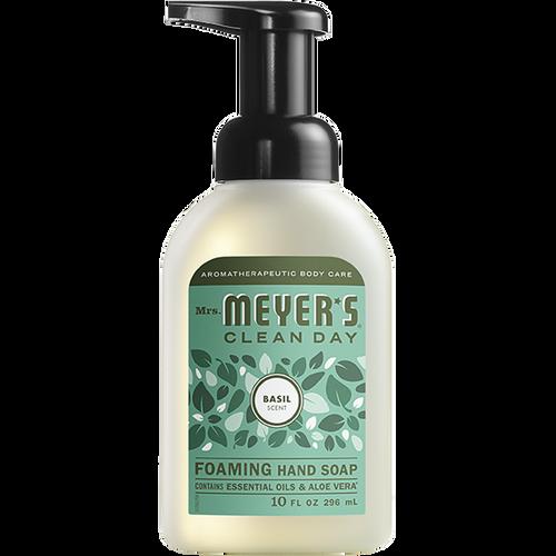 mrs meyers basil foaming hand soap