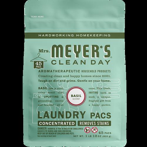 mrs meyers basil laundry packs