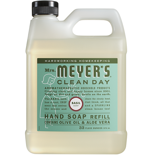 mrs meyers basil liquid hand soap refill