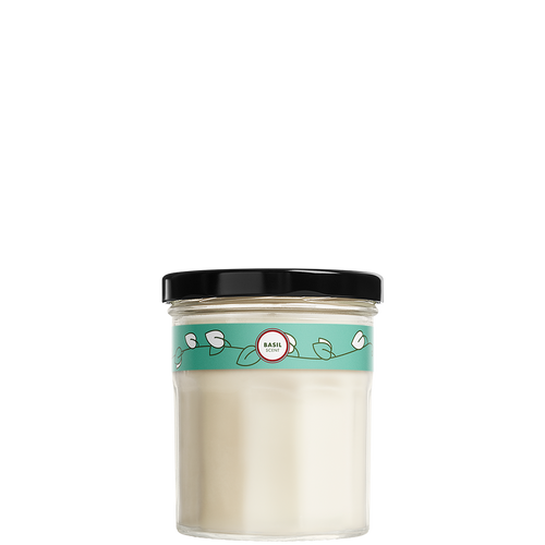 mrs meyers basil soy candle small