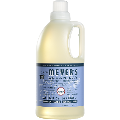 mrs meyers bluebell laundry detergent