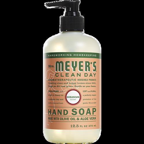 mrs meyers geranium liquid hand soap