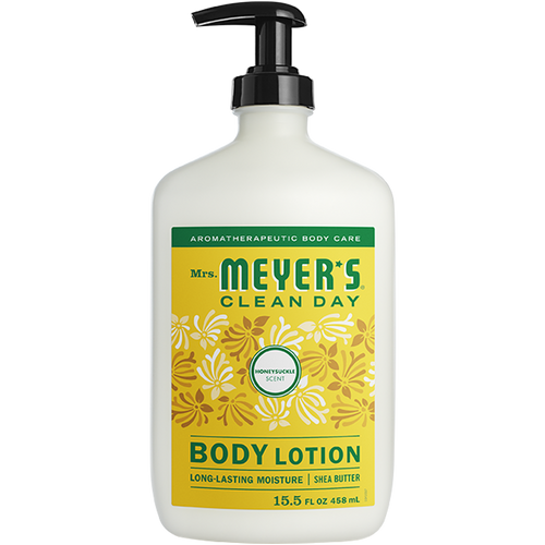 mrs meyers honeysuckle body lotion