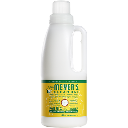 mrs meyers honeysuckle fabric softener