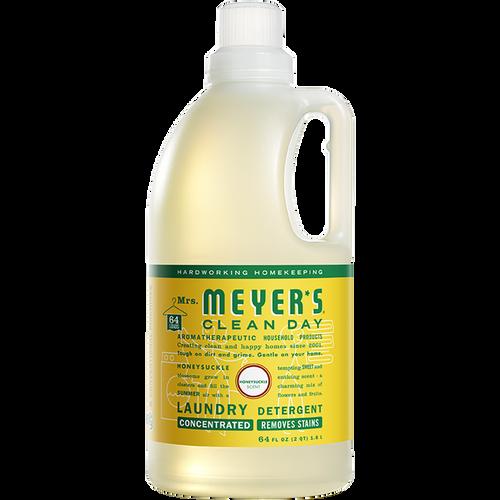 mrs meyers honeysuckle laundry detergent
