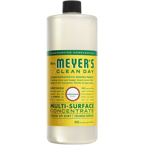 mrs meyers honeysuckle multi surface concentrate