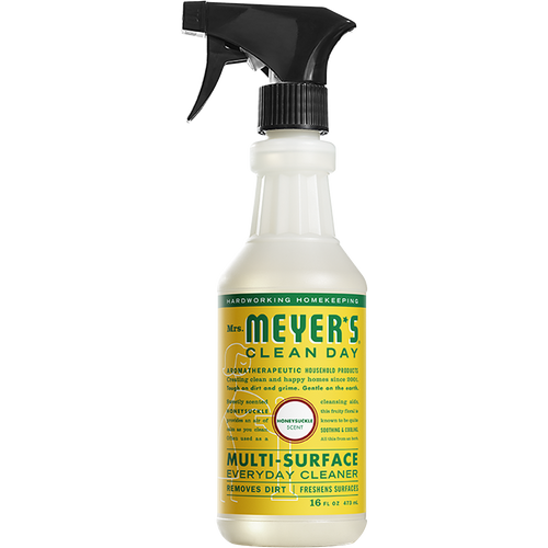 mrs meyers honeysuckle multi surface everyday cleaner