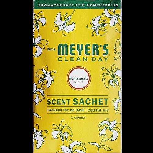 mrs meyers honeysuckle scent sachet