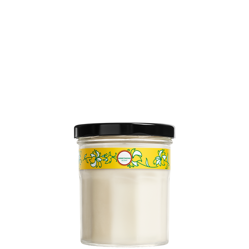 mrs meyers honeysuckle soy candle small