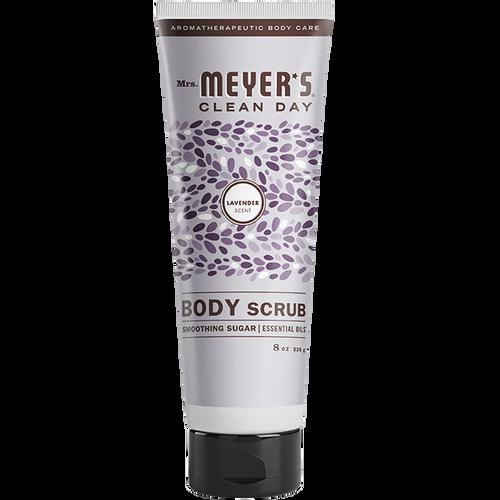mrs meyers lavender body scrub