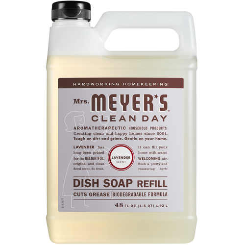 mrs meyers lavender dish soap refill