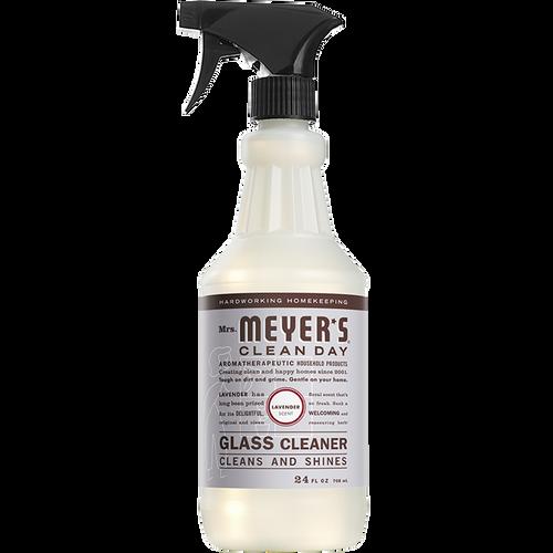 mrs meyers lavender glass cleaner