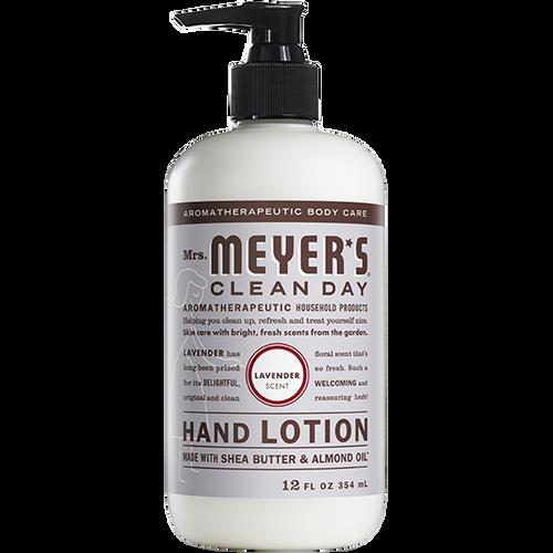 mrs meyers lavender hand lotion