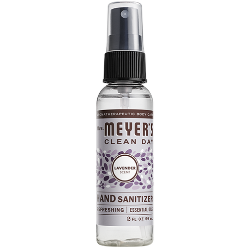 mrs meyers lavender hand sanitizer