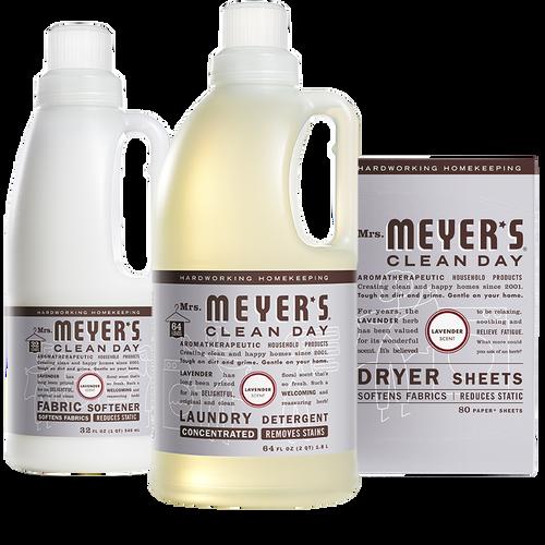 mrs meyers lavender laundry set