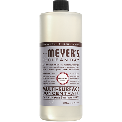 mrs meyers lavender multi surface concentrate