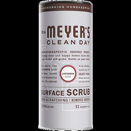 mrs meyers lavender surface scrub