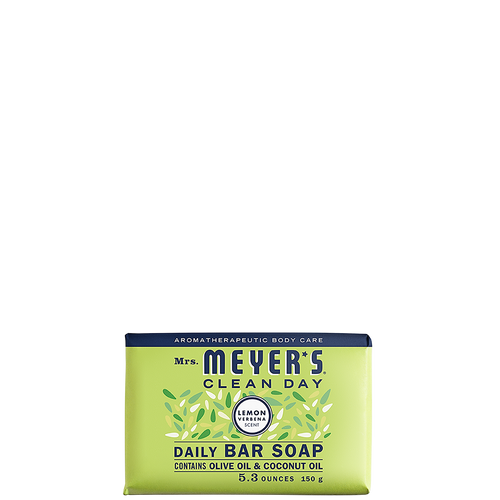 mrs meyers lemon verbena daily bar soap