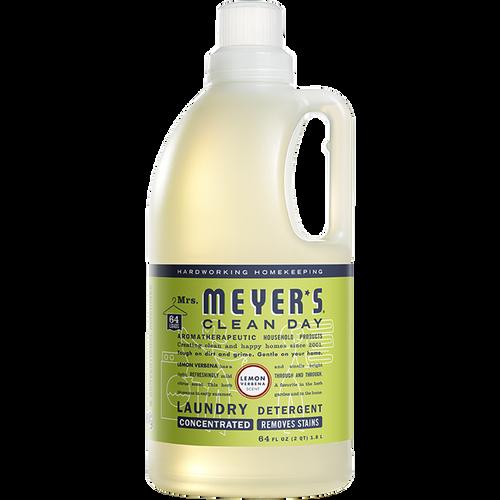 mrs meyers lemon verbena laundry detergent