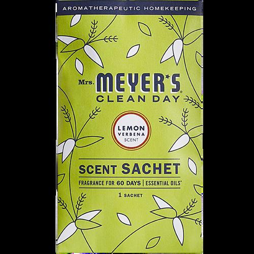 mrs meyers lemon verbena scent sachet