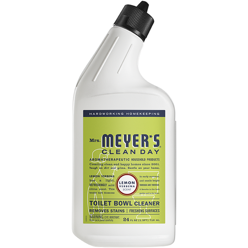 mrs meyers lemon verbena toilet bowl cleaner