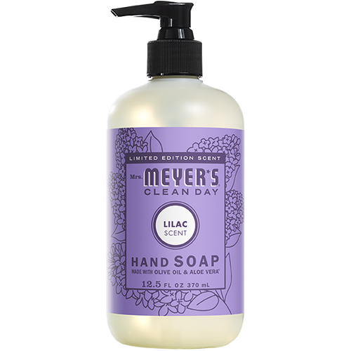 mrs meyers lilac liquid hand soap