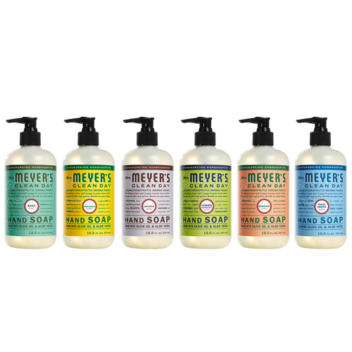 mrs meyers liquid hand soap variety pack