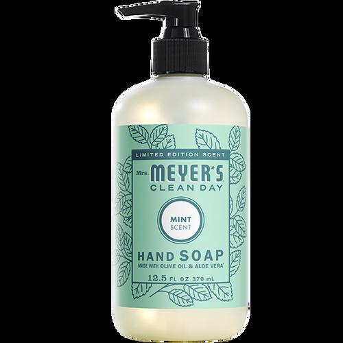 mrs meyers mint liquid hand soap