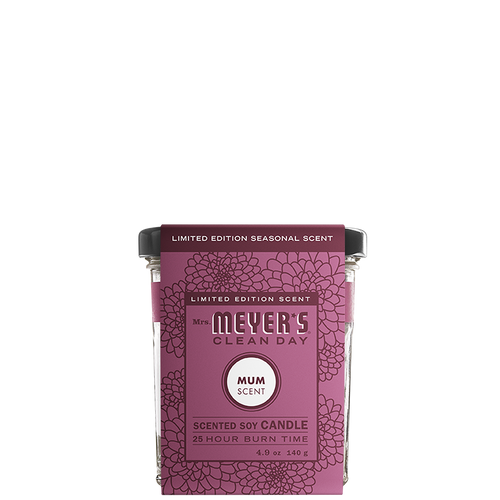 mrs meyers mum soy candle small