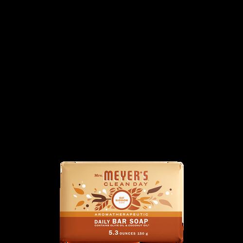 mrs meyers oat blossom daily bar soap