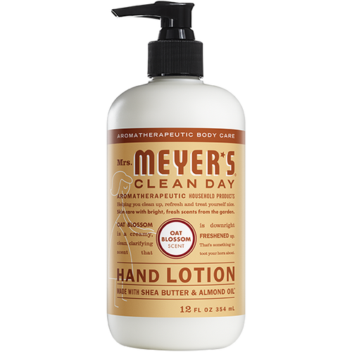 mrs meyers oat blossom hand lotion