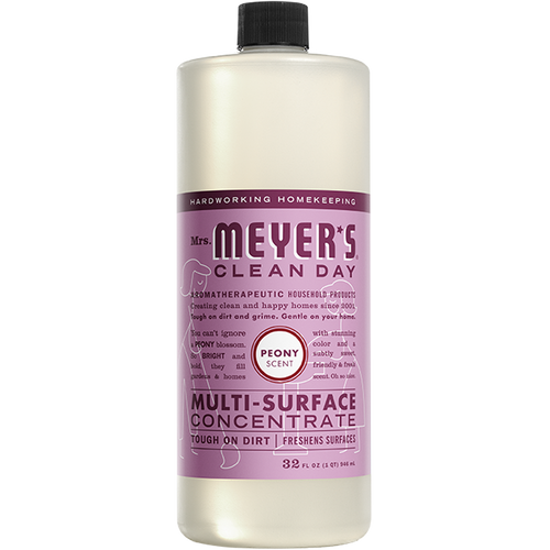 mrs meyers peony multi surface concentrate