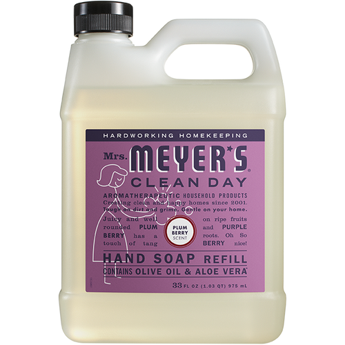 mrs meyers plum berry liquid hand soap refill