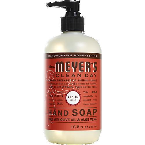 mrs meyers radish liquid hand soap