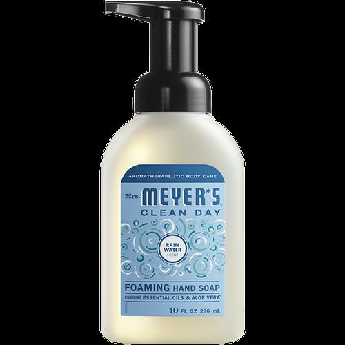 mrs meyers rain water foaming hand soap