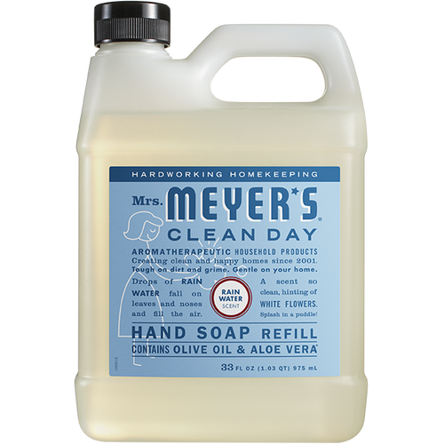 mrs meyers rain water liquid hand soap refill