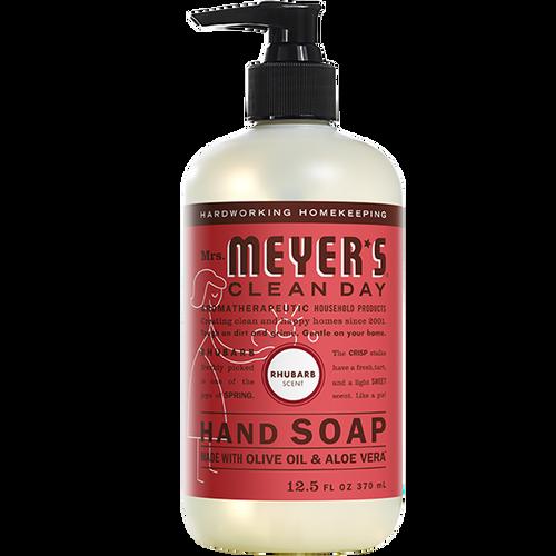 mrs meyers rhubarb liquid hand soap