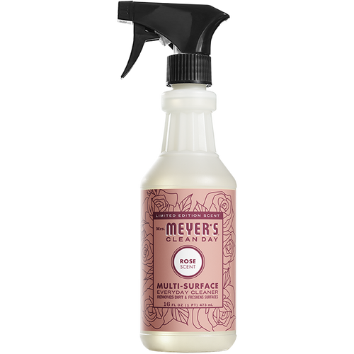 mrs meyers rose multi surface everyday cleaner