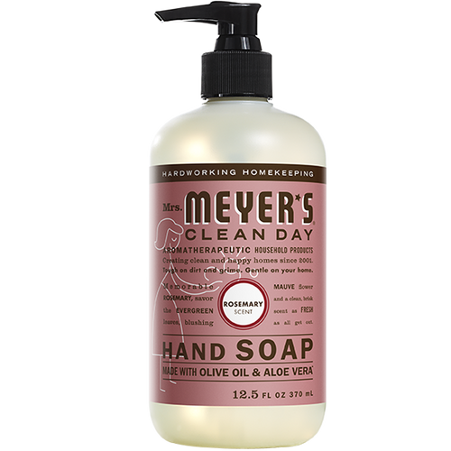 mrs meyers rosemary liquid hand soap