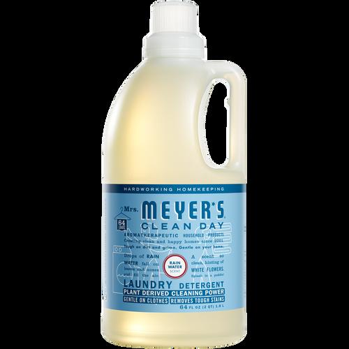mrs meyers rain water laundry detergent
