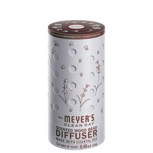 mrs meyers scented wood bead diffuser lavender