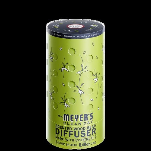 mrs meyers scented wood bead diffuser lemon verbena