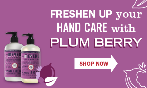 Freshen up your hand care with plum berry. Shop Now